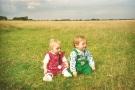 Baby Twins on Hedon Aerodrome 1990s